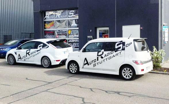 Auto Radio Shop Stuttgart Aussenansicht