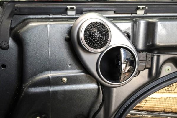 Gladen Hochtöner Soundupgrade im Mini Cooper