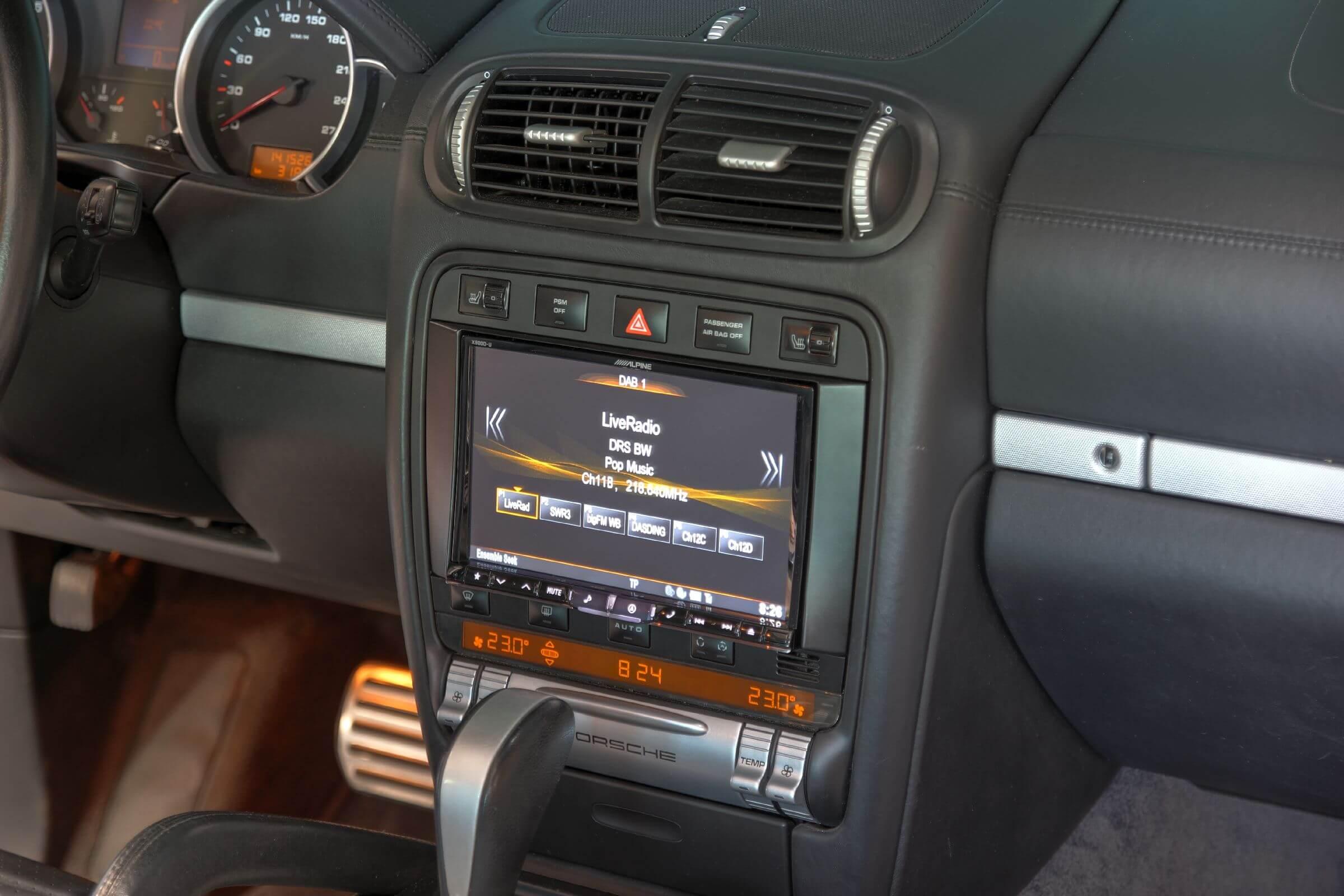 Navigationssystem Nachrüstung im Cayenne