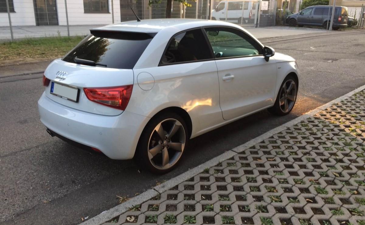 Audi A1 Soundsystem Upgrade komplett rückrüstbar