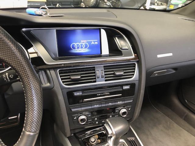 Werksradio im Audi A5 Cabriolet nach dem Soundupgrade