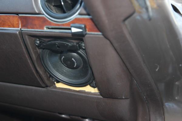 Lautsprechereinbauplatz Beifahrerseite